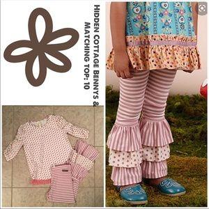 Matilda Jane Hidden Cottage Bennys Pants & Top: 10